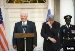 Персональная дипломатия: Борис Ельцин и Билл Клинтон, 1995 год