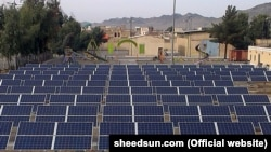 پنلهای خورشیدی در شهر زاهدان