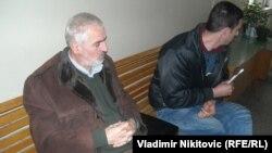 Borivoje Obradovićsa advokatom Veljkom Smiljanićem