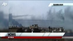 Fighting Continues In Homs, Syria