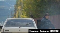 В Вихоревке (Иркутская область России) подвозили «избирателей». Фото: Надежда Зайцева