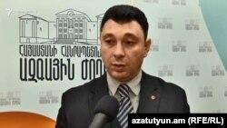 Вице-спикер Национального собрания Армении Эдуард Шармазанов (архив)
