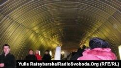 У Дніпропетровському метро нині тільки одна лінія з шести станцій