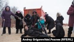 Чатыр лагере активистлары