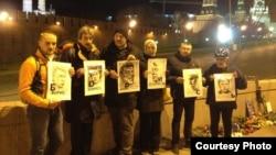 Акция памяти Бориса Немцова. 20 мая
