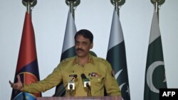 Pakistani Army spokesman Major General Asif Ghafoor (file photo)