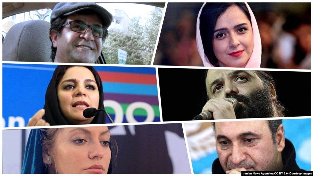 پیش از جعفر پناهی، شماری ازهنرمندان داخل ایراناز حق شهروندان برای انجام اعتراضات مسالمتآمیز حمایت کردهاند.