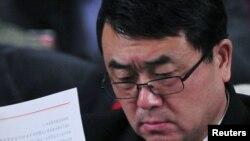 Adjunctul primarului din Chongqing, Wang Lijun.