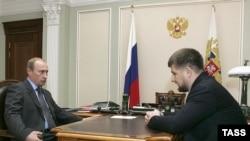 Рамзан Кадыров: «Спасибо, Владимир Владимирович за оказанное доверие»