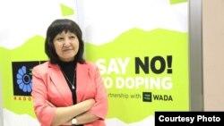 Республикалық допингке қарсы ұлттық орталықтың директоры Майра Бақашева.