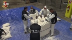 Italian Police Make Major Heroin Haul On Ship From Iran