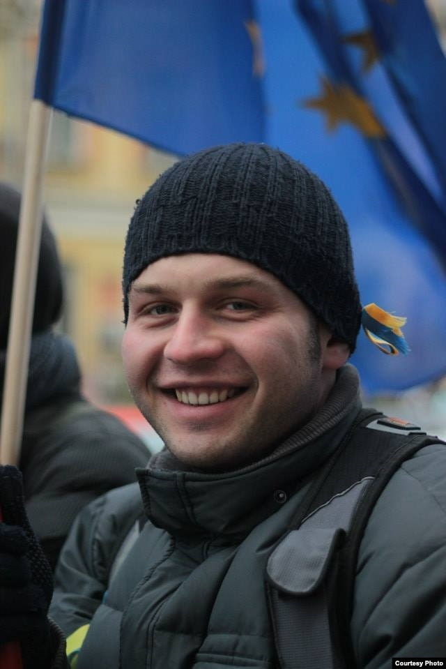 Ukrainian filmmaker Andriy Pryimachenko