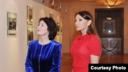 Рәисә Атамбаева Азәрбайҗанның беренче ханымы Мәһрибан Алиева белән