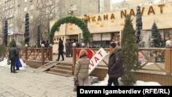 Бишкектеги «Нават» ресторандарынын бири.