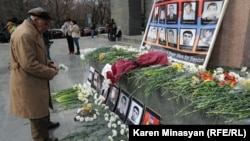 Eight protesters and two police officers were killed in the unrest in 2008. (file photo)