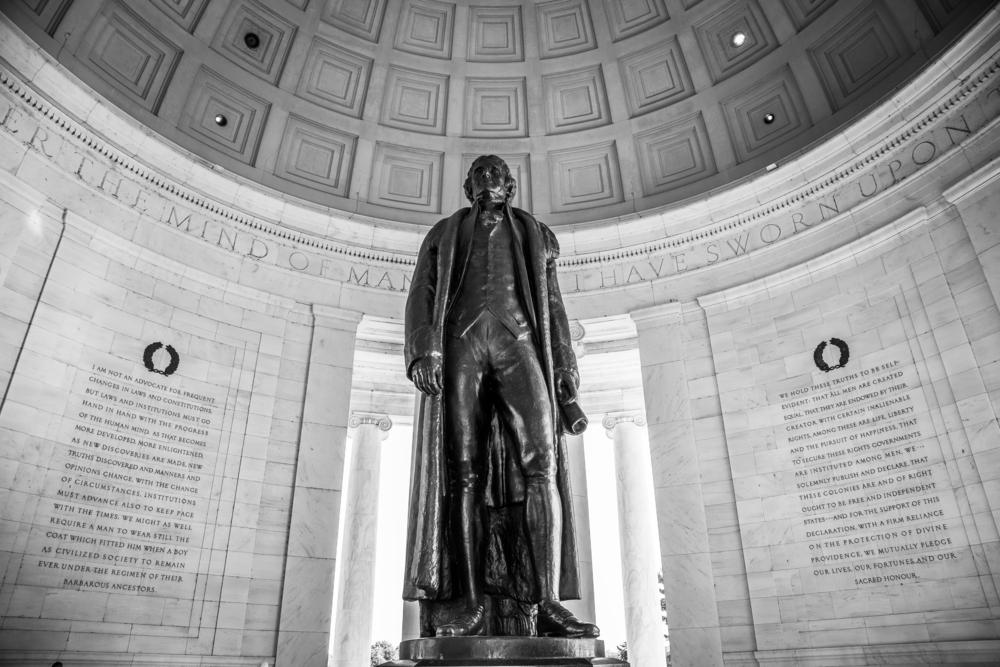 Які будучы прэзыдэнт ЗША быў адным з аўтараў Дэклярацыі незалежнасьці?