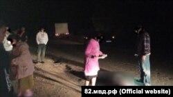 Последствия ДТП в Раздольненском районе