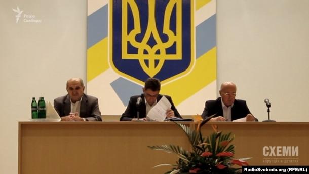 Засідання акціонерів «Одеського припортового заводу»