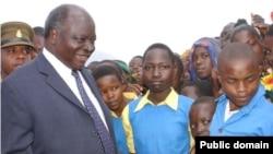 Presidenti i Kenias Mvai Kibaki