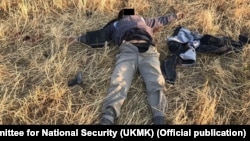 Authorities in Kyrgyzstan say security forces have killed two suspected militants in a gunbattle in the northern Chui region.