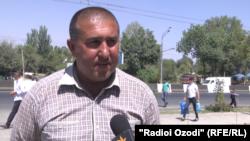 Саидмӯъмин Бобоназаров, муовини раҳбари терминали мусофиркашонии Душанбе-Кӯлоб.
