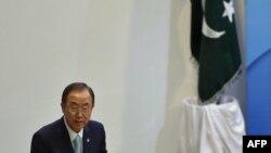 Ban Ki-moon në Islamabad të Pakistanit