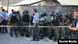 Pamje nga operacioni i policisë speciale në Bishkek