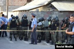 Під час протистояння в Бішкеку, фото akipress.org