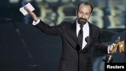 "Асгар Фархади на сцене ""Оскар""а"