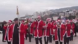 У Ялті пройшов «Мороз-парад»