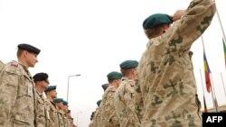 شماری از نیروهای لهستانی عضو ائتلاف بینالمللی ناتو