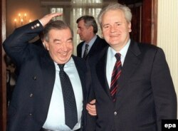 Яўген Прымакоў і Слабадан Мілошавіч, 1999 год