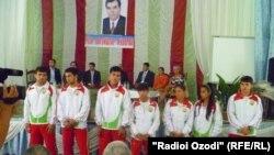 Firuz Yakubov Tajik athlete