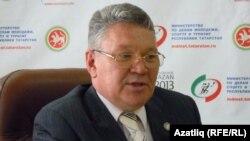 Татарстан яшьләр эшләре, спорт һәм туристлык министры Рафис Борһанов