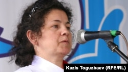 Председатель Общественной наблюдательной комиссии по Павлодарской области Елена Семёнова.