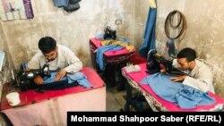 دوخت برقع در هرات