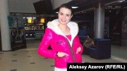 Победительница двух конкурсов красоты Кумис Базарбаева рада, что снимаются такие фильмы, как «Дорога домой». Алматы, 9 марта 2015 года.