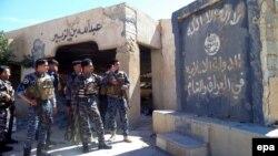 قوات عراقية في ناحية العلم بعد تحريرها