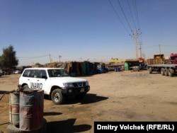 Автомобиль UNAMID – миссии ООН в Дарфуре