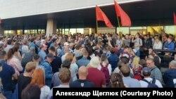 Владивостокта сайлауда хәрәмләшүләргә каршы митинг