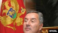 Montenegro's Prime Minister Milo Djukanovic