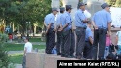 Кыргыз милициясы. Бишкек.