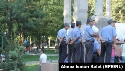 Милиция в Бишкеке.