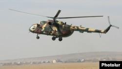 Erməni helikopteri