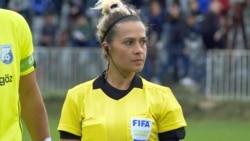 Female Referee Breaks Barriers In Kosovo's Soccer Stadiums