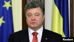 Украина президенті Петр Порошенко. Киев, 16 желтоқсан 2014 жыл.