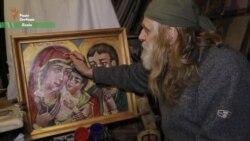 Іконописець, який розмальовував щити майданівців: «я вижив, а юні загинули» (відео)