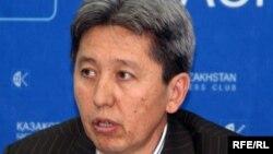 Қазақстан тәуелсіз кәсіпкерлер ассоциациясының вице-президенті Тимур Назханов. Алматы, 3 шілде 2009 жыл.