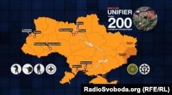 В Україні у складі місії UNIFIER одночасно працюють понад двісті канадських інструкторів