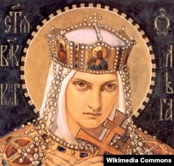 Николай Бруни. Святая великая княгиня Ольга. 1901